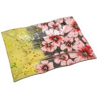 Meadow Flower Rectangle Indent Plate Summer Flowers......